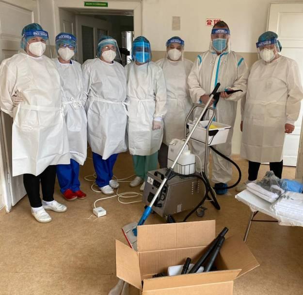Donație oferită din inimă pentru Spitalul Județean de Urgență din Miercurea-Ciuc