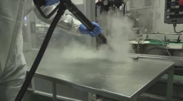 Igienizare cu Abur Uscat în Industria Alimentară