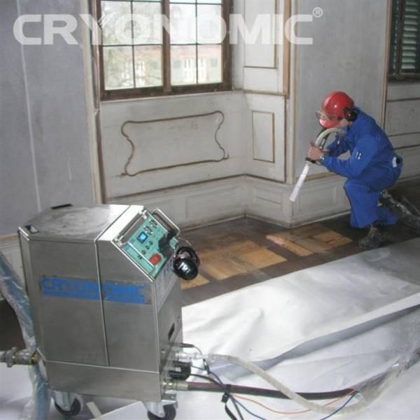 Restaurare Lemn cu Gheață Carbonică 2