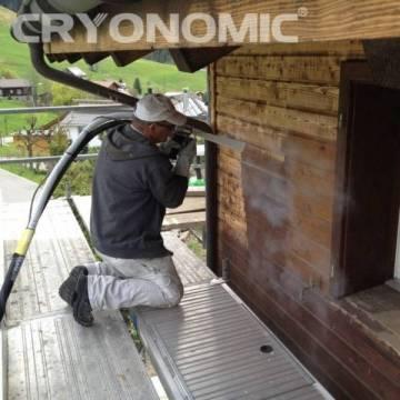 Restaurare Lemn cu Gheață Carbonică 0