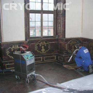 Restaurare Lemn cu Gheață Carbonică 3