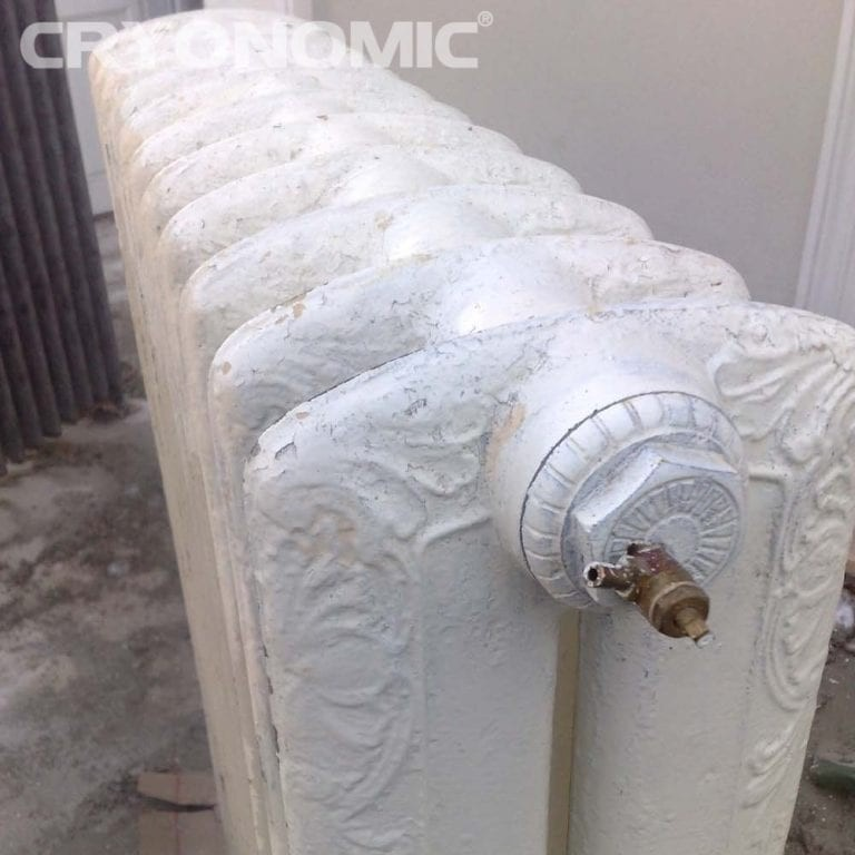Gheață carbonică & modul abraziv în Construcții 14