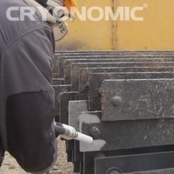 Gheață carbonică & modul abraziv în Construcții 32