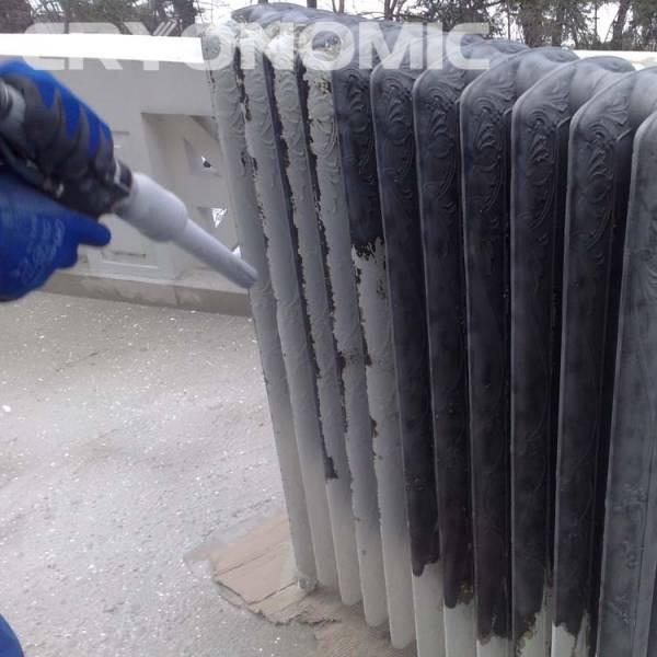Gheață carbonică & modul abraziv în Construcții 5