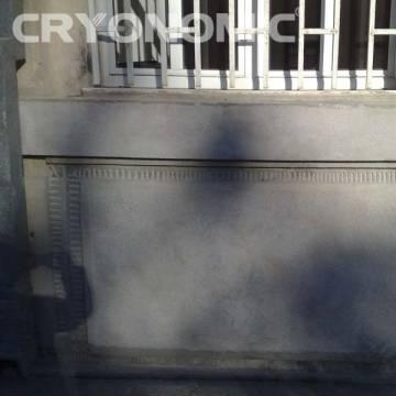 Gheață carbonică & modul abraziv în Construcții 29