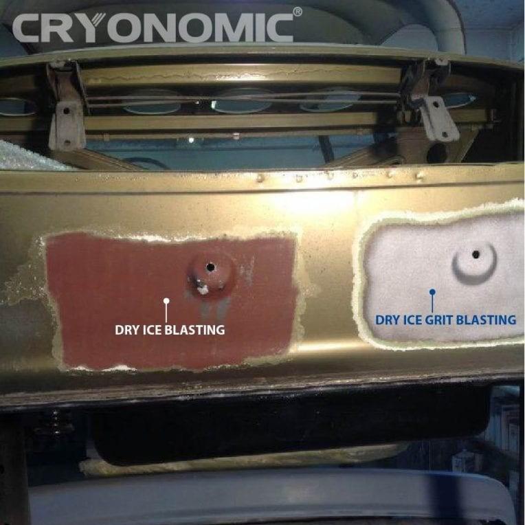 Curățare cu gheață carbonică și modul abraziv în industria auto, feroviară și aeronautică 7