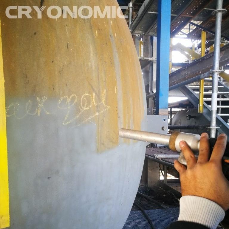 Curățarea cu gheață carbonică și modul abraziv Industria Chimică 0