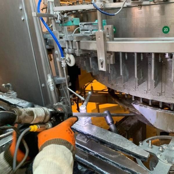 Curățare linii de producție alimentară 36
