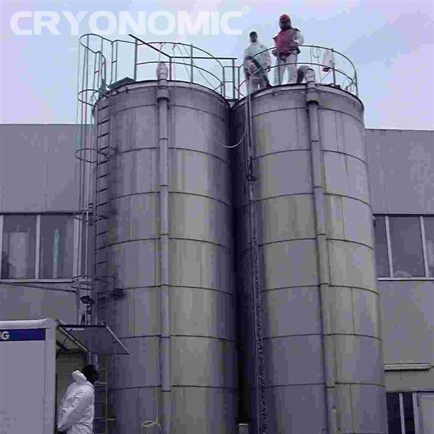 Curățare rezervoare depozitare și reactor în Industria Alimentară 3