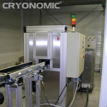 Curățare automatizată cu gheață carbonică în producția de serie 3
