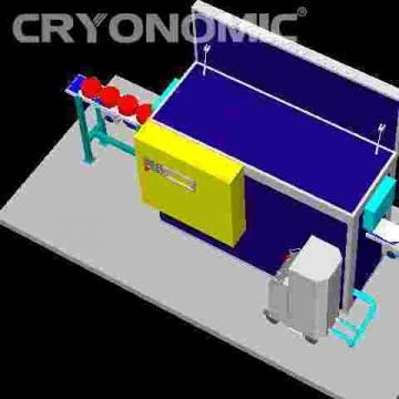Curățare automatizată cu gheață carbonică în producția de serie 4