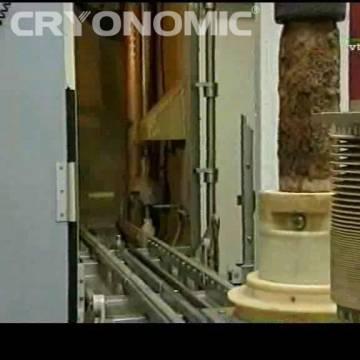 Curățare automatizată cu gheață carbonică în producția de serie 1