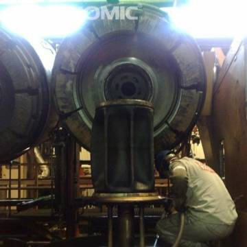 Curățarea matrițelor turnare anvelope 8