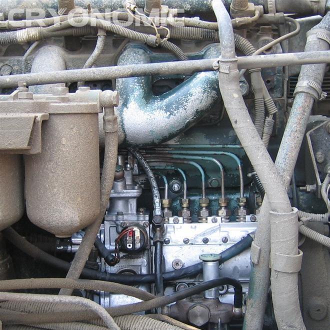 Curățare Motoare cu Gheață Carbonică 0