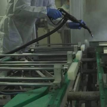 Curățare cu Abur Uscat în Industria Alimentară 2