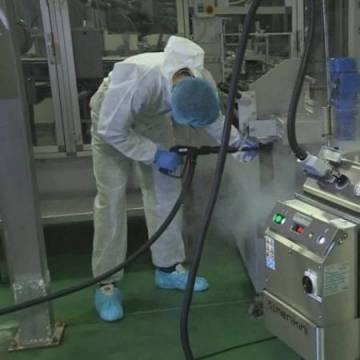 Curățare cu Abur Uscat în Industria Alimentară 0
