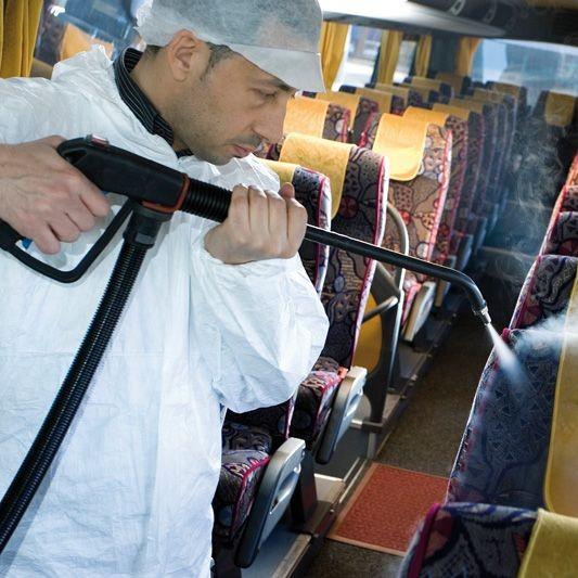 Curățare în Domeniul de Transport cu Abur Uscat 8