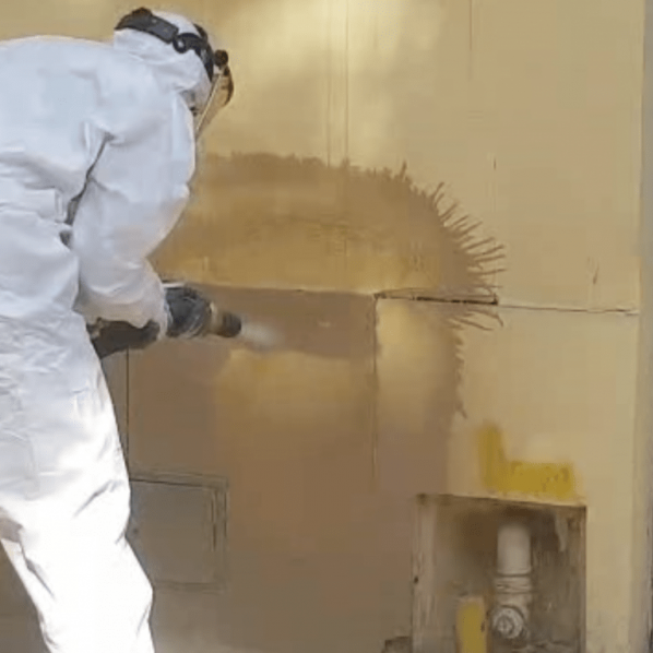 Curățare / Restaurare prin sablare umedă abrazivă 6