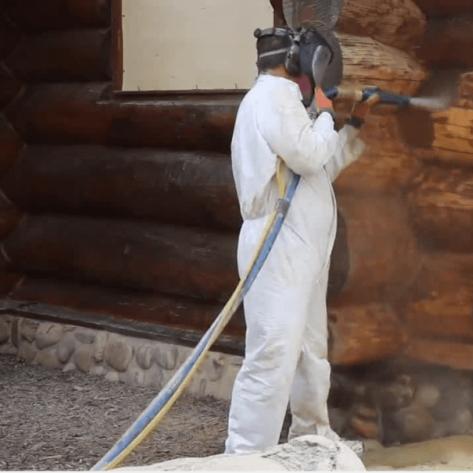 Curățare / Restaurare prin sablare umedă abrazivă 71