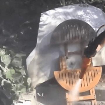 Curățare / Restaurare prin sablare umedă abrazivă 42