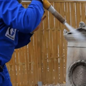 Curățare / Restaurare prin sablare umedă abrazivă 20