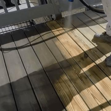 Curățare / Restaurare prin sablare umedă abrazivă 2