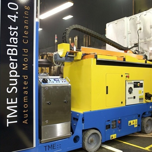Robot de Curățare cu Gheață Carbonică 0
